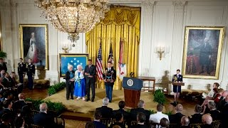 The President Awards the Medal of Honor Posthumously to World War I Veterans