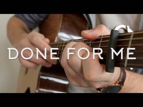 Charlie Puth - Done For Me (Ft. Kehlani) // Fingerstyle Guitar Cover - Dax Andreas