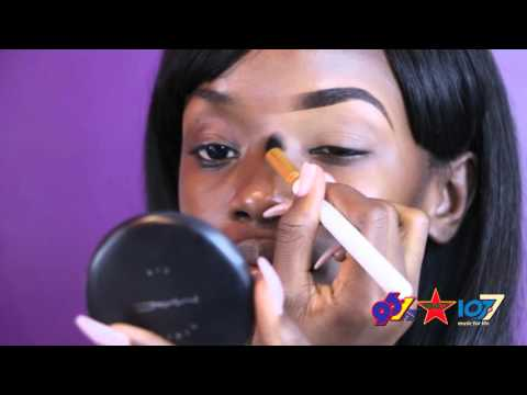 Makeup Tutorial: Eyebrows & Eyeshadows With MUA, Angel Cumberbatch
