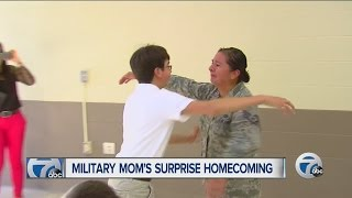 Miltary mom's surprise homecoming