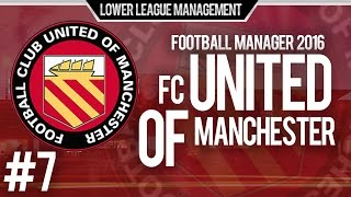 Football Manager 2016 LLM Playthrough | FC United of Manchester #7 | First Away Win ?