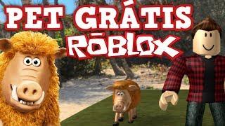 GRATUIT POUR ANIMAUX DE COMPAGNIE À ROBLOX PORCO (THE CAVEMAN)