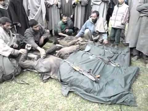Encounter handwara 3 militant killed Operation going on.