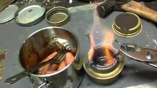 Cook kit practice - Cheap meal #001* (Homemade MRE*) Urban Bushcraft