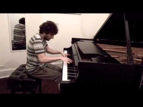 Raffa Scoccia Impro At Steinway Hall NYC Remembering Jon Lord Piano Solo