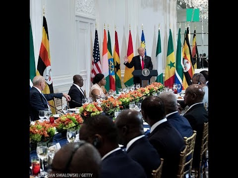 Trump References Made-Up 'Nambia' During Speech To African Leaders