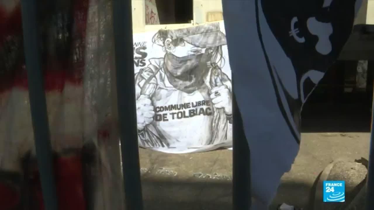 فرانس 24:France: Foreign students divided over university protests