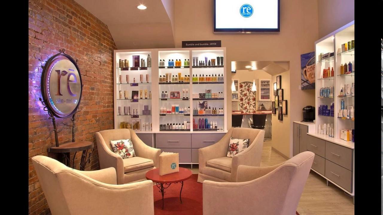 Decorating ideas nail salon interior design - YouTube