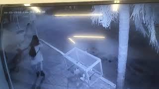 Vandalismo en Alta Gracia.
