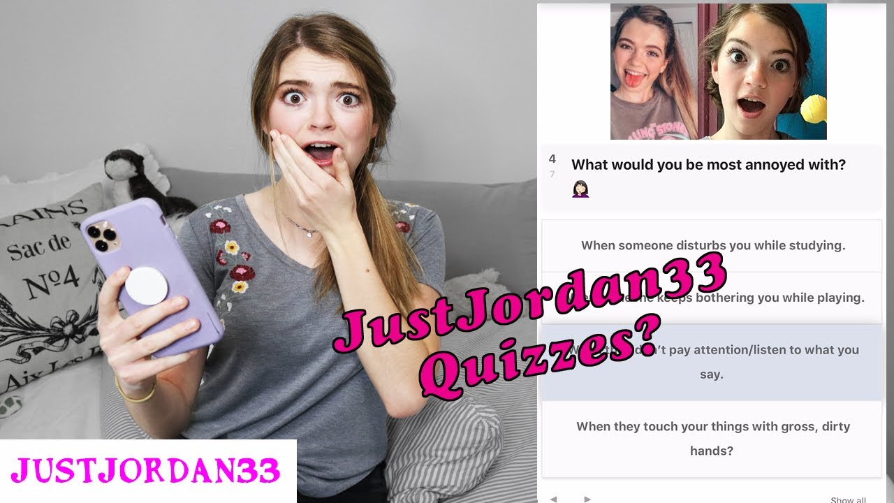 Download Taking Online Quizzes About Myself!