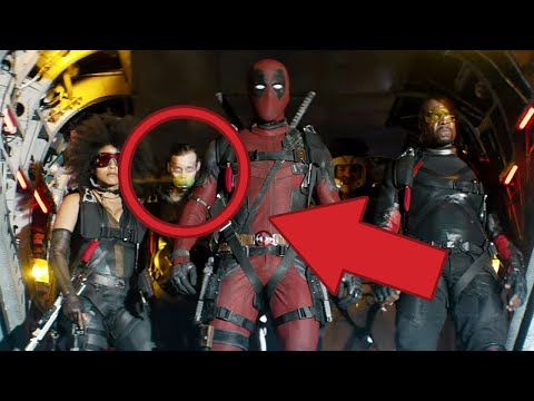 Deadpool 2 Red Band TRAILER BREAKDOWN - Easter Eggs, Cameos and Hidden Details