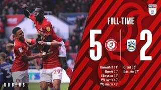 HIGHLIGHTS: 📺 Bristol City 5-2 Huddersfield Town