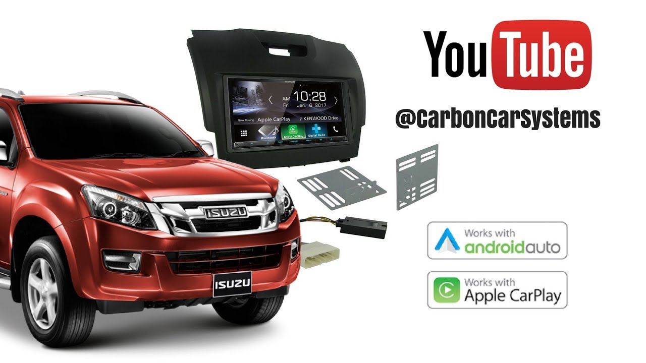 small resolution of how to upgrade isuzu dmax stereo remove install apple carplay