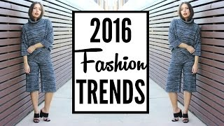 2016 Fashion Trends | How to Style Runway Trends