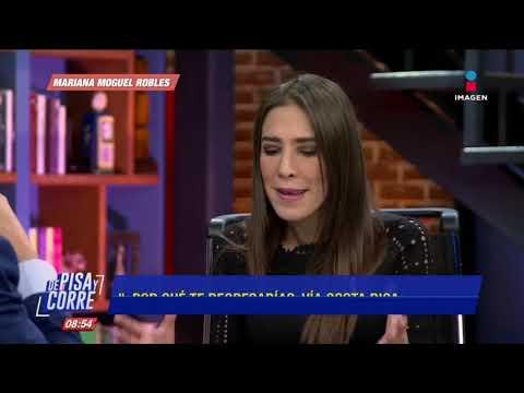 Mariana Moguel habla
