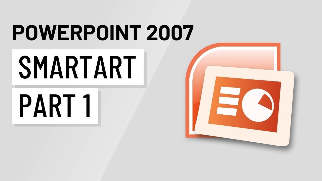 Powerpoint 2007 using smartart part 1 youtube powerpoint 2007 using smartart part 1 toneelgroepblik Images