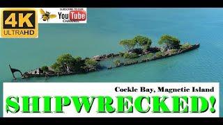 Shipwrecked at Magnetic Island, Australia - 4K drone video   TheChurchie76 - DJI Phantom 4 Advanced