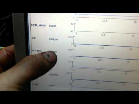 FORD 6.0L ~Priming the High Pressure Oil System With FORD IDS Software