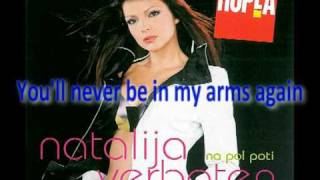 "Natalija Verboten feat. Don Sergio - ""Natalija"" + English translation [HQ]"