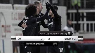 Τα στιγμιότυπα του ΟΦΗ-ΠΑΟΚ - PAOK TV