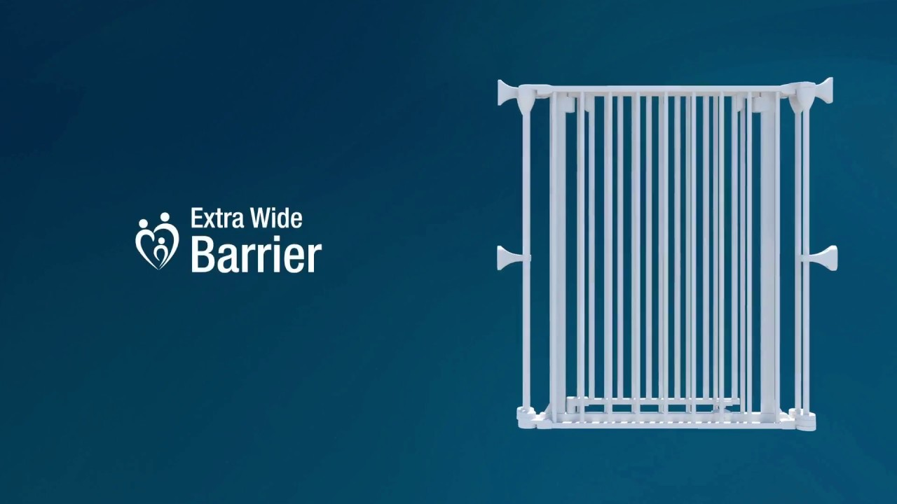 Perma Child Safety Extra Wide Barrier Youtube