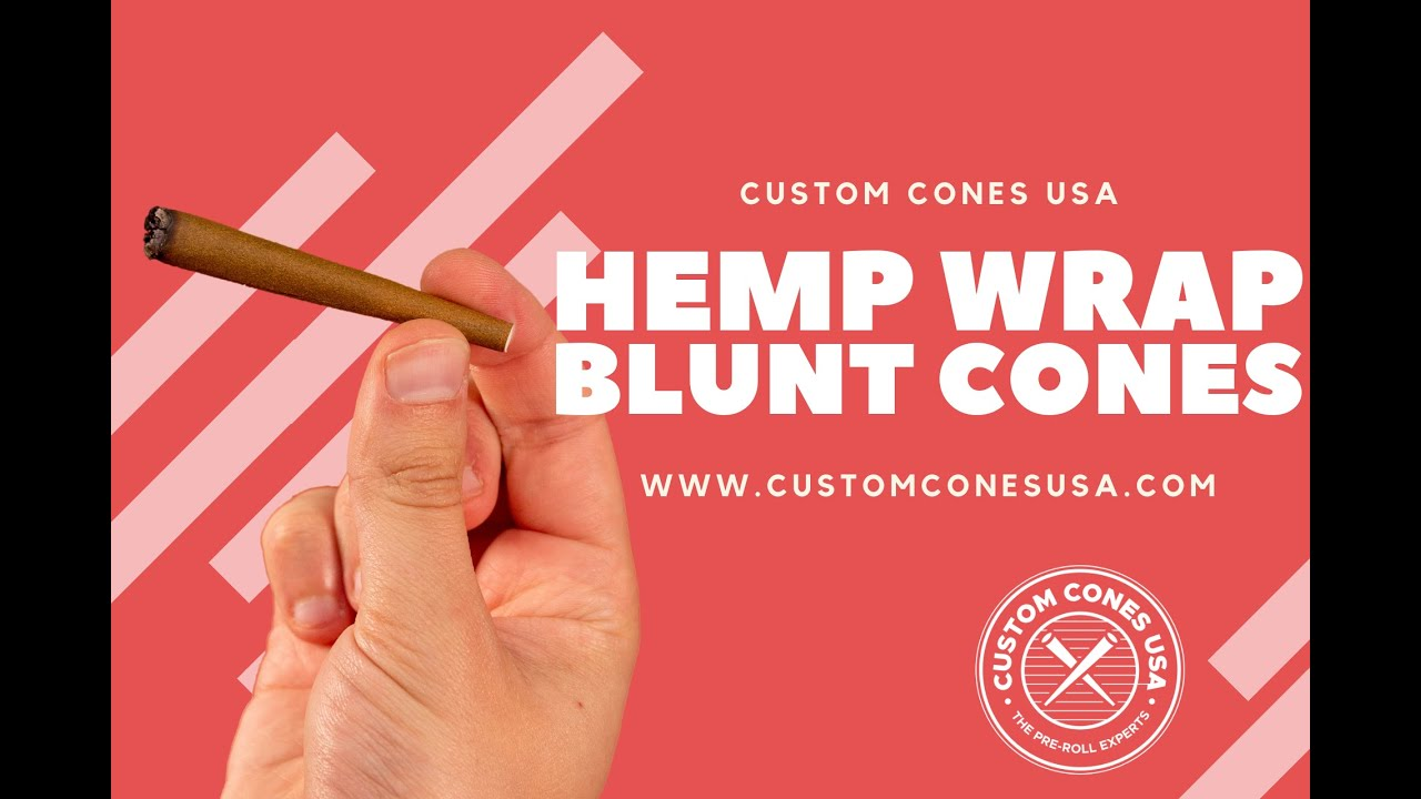 Hemp Wrap Blunt Cones | Custom Cones USA