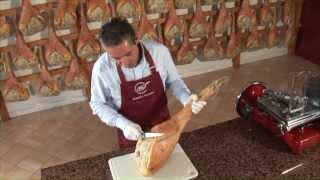 How To Slice Prosciutto Di San Daniele.