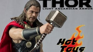 Hot Toys MMS 225 Thor: Dark World Thor Light Asgardian Armor