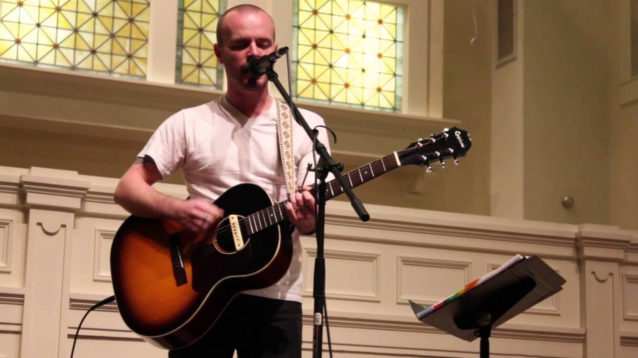 Derek Webb Singing Wedding Dress Live In Lexington Kentucky Youtube