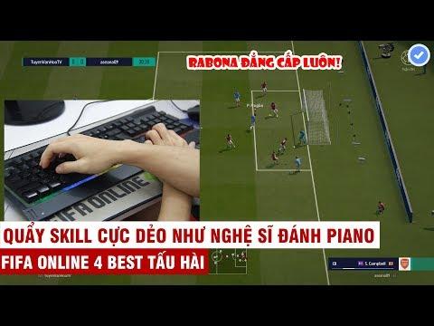 FIFA ONLINE 4 | Cận cảnh thao tác tay quẩy Skill chóng mặt và màn tấu hài khiến đối thủ OUT GAME