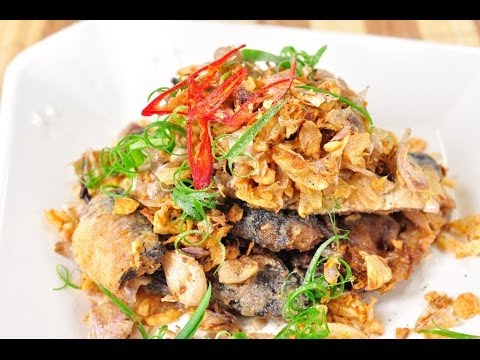Access youtube thai food stirred fried canned fish with garlic and pepper pla ka forumfinder Gallery