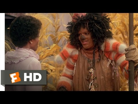 The Wiz (2/8) Movie CLIP - Scarecrow Joins Dorothy (1978) HD