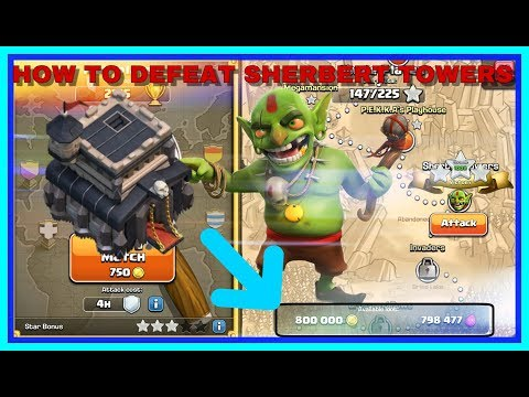 How To Defeat Sherbet Towers As Town Hall 9 | Clash Of Clans | 2019