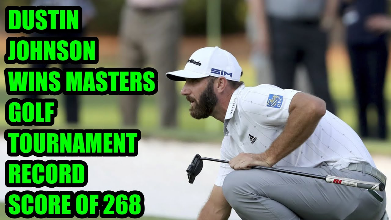 Dustin Johnson wins 2020 Masters at Augusta National - CNN