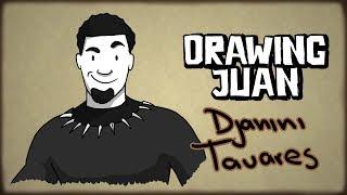 DJANINY TAVARES  DRAWING JUAN