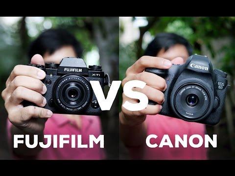 Fujifilm X-T1 vs CANON 6D fullframe