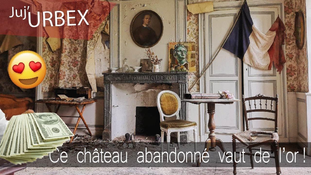 Un IMMENSE château abandonnée encore meublé | URBEX