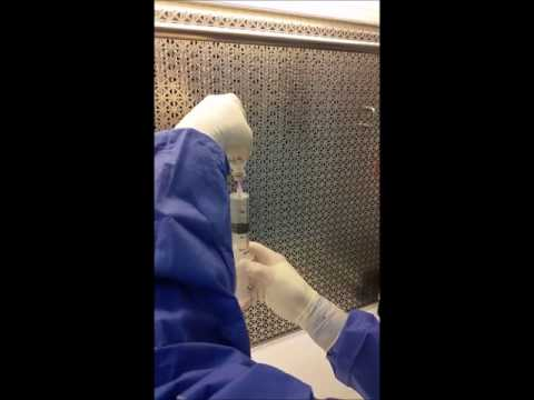 Tim Part 3 - Demonstration of Appropriate Aseptic Technique in a Horizontal Laminar Flow Hood