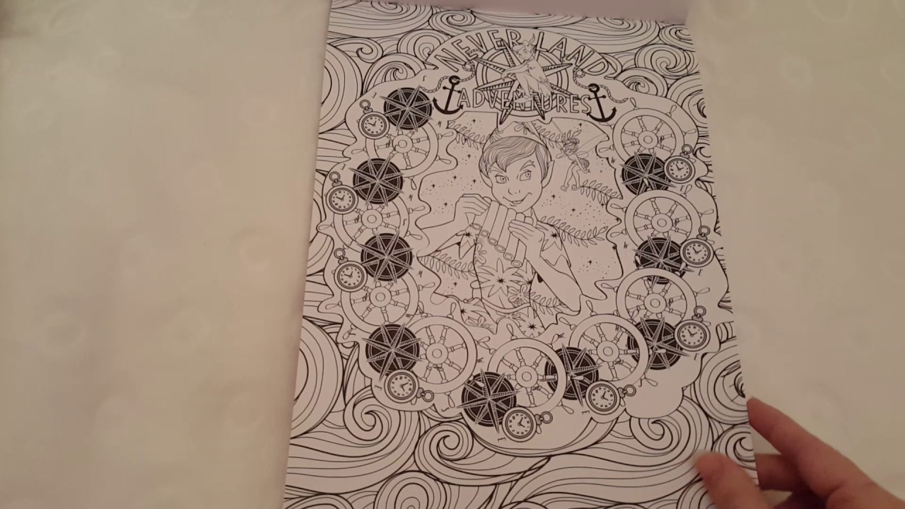 Art Thérapie Disney Love Stories 60 Coloriages Anti Stress Youtube