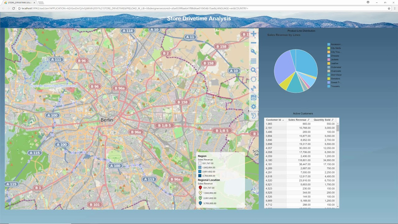 Mapping in SAP Lumira Designer - YouTube on
