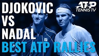 Rafael Nadal vs Novak Djokovic: Best Ever ATP Shots & Rallies!