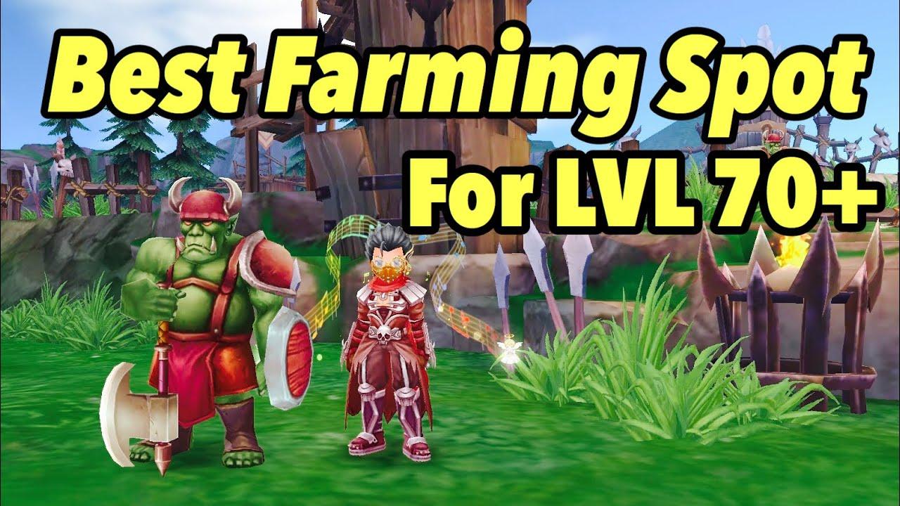 Ragnarok M Enternal Love (SEA) - Best Farming Spots For Lvl 70+🔥