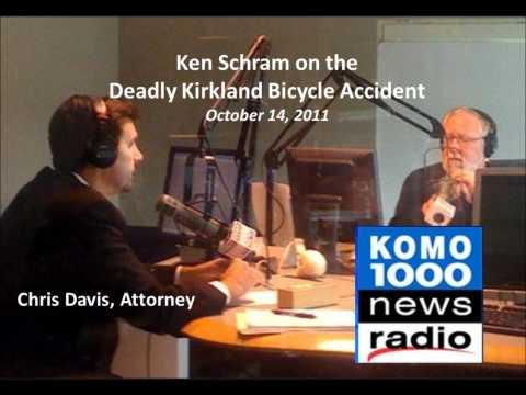 NEWS TALK RADIO: Ken Schram Interview of Washington Bicycle Accident Attorney Chris Davis