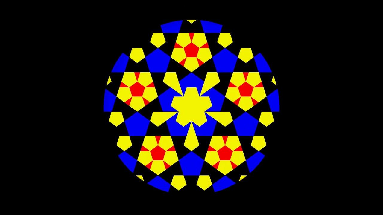Capitulo 24 Algo pasa con Phi - Mandalas fractáureos pentagonales