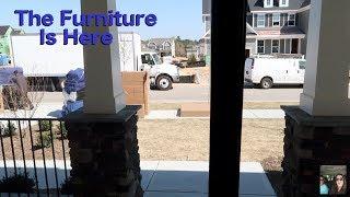 The Furniture Arrives House Tour Vlog Pottery Barn Delivery | PaulAndShannonsLife