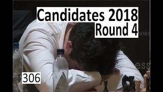 Candidates 2018: Round 4  A rollercoaster of a game!