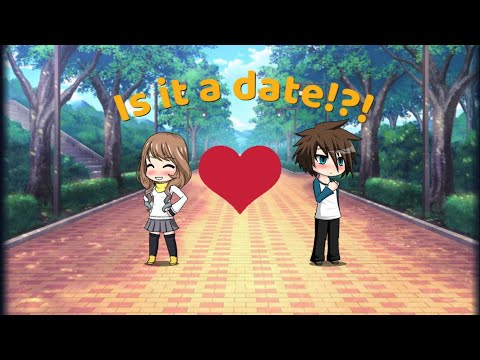 Is it a date!?! | online relationship | gacha studio ep 5