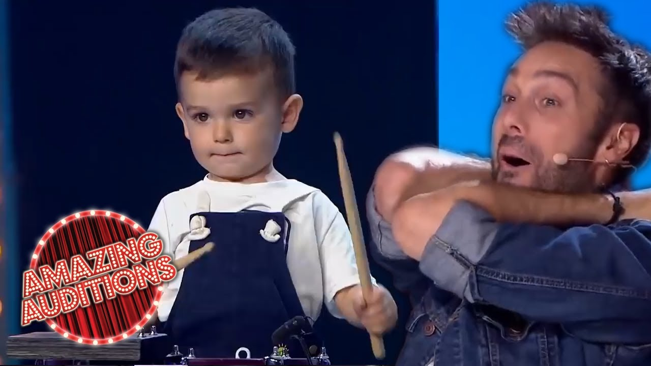 Most TALENTED Youngest Drummers On Got Talent | Amazing Auditions