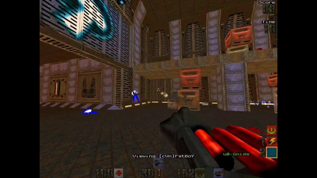 Quake 2 CTF - cVn vs  u - 16 3 2004 - Friendly - q2ctf1 - pov FETTSON^ -  part 1of2