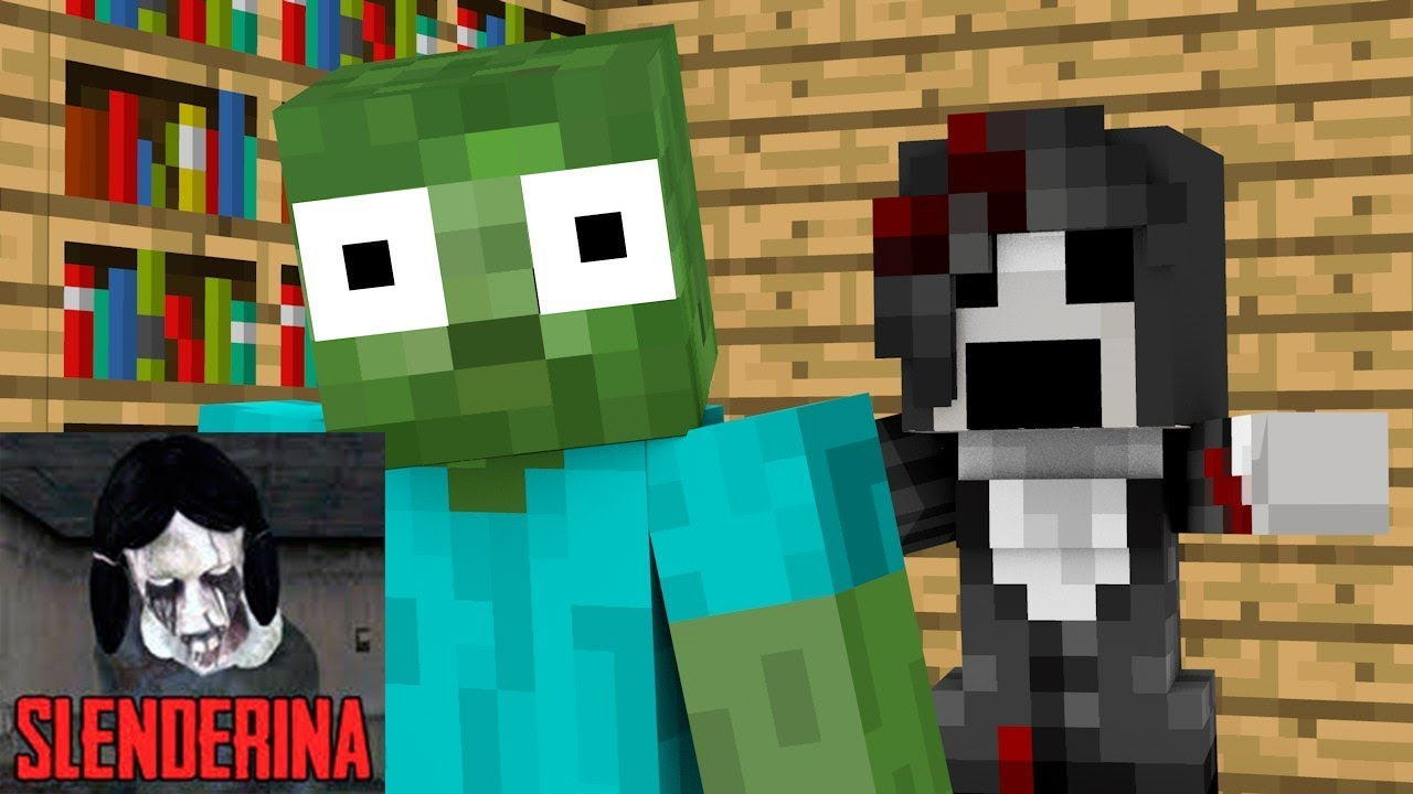✅ Monster School : Slenderina - Granny Horror Challenge - Minecraft Animation